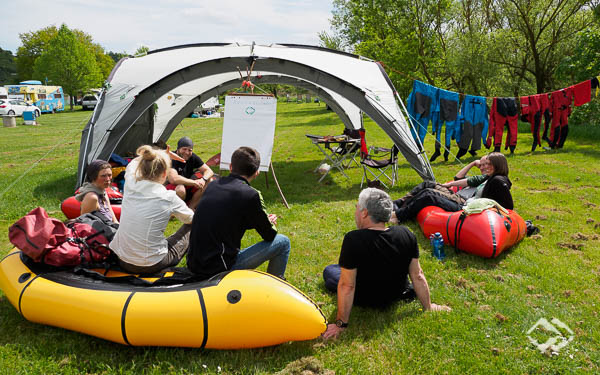 Multiday Packrafting Trainings Hunsrück