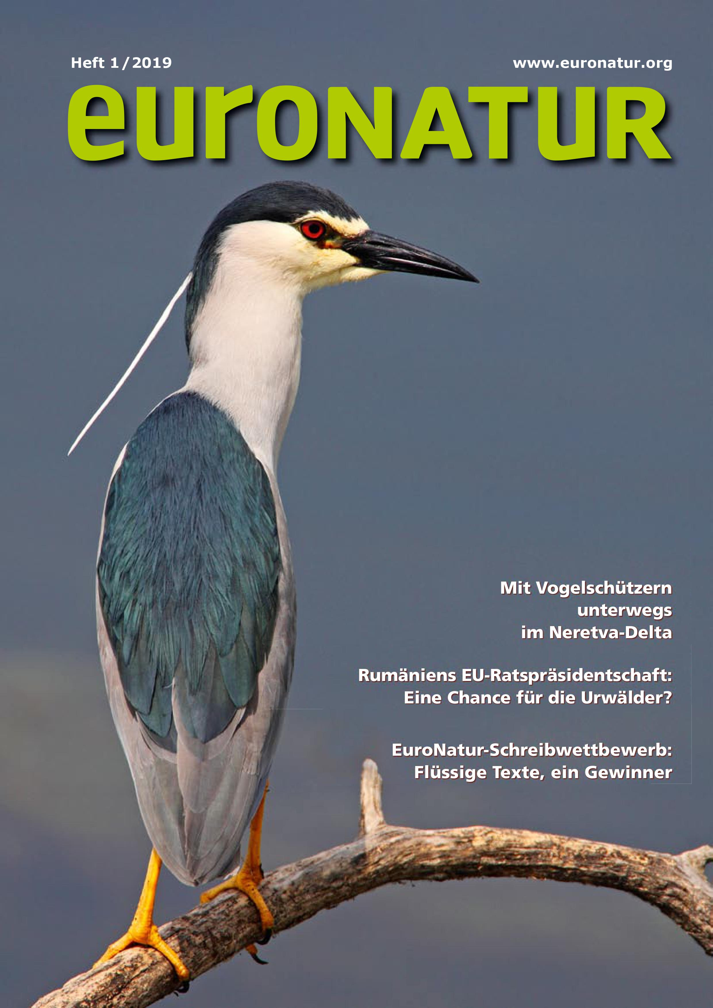 EuroNatur Cover 01/2019