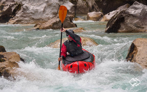 Advanced Wildwasser Packrafting Kurse Soca